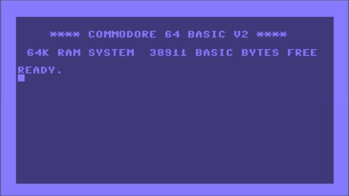 c 64 startscreen